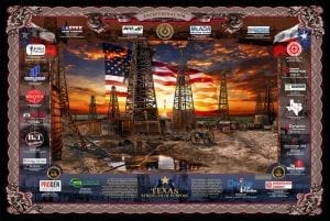 """""""Texas Strength Of Purpose"""" by Gary Crouch History Artist"""